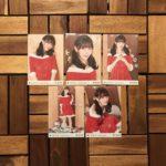 【開封レビュー】乃木坂46 個別生写真 「帰り道/サンタ2018」