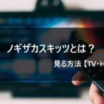 【乃木坂46】ノギザカスキッツとは? 動画を見る方法【Hulu】